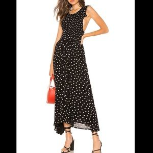Free People polka dot dress